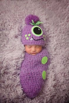 Hey, I found this really awesome Etsy listing at https://www.etsy.com/listing/212287904/crochet-newborn-baby-boygirl-monster