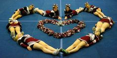 The Washington Academy Cheerleaders know exactly what true love is all about...cheerleading!