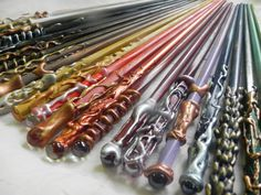 Magic Wands for Wizards and Witchlings by EarthenJewels on Etsy. $10.00, via Etsy.