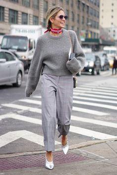 Street Style New York Fashion Week Fall 2017 | POPSUGAR Fashion Photo 40