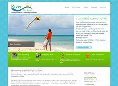 school website desig