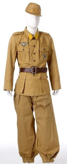 Fallschirmjager, uniform DAK Afrikakorps.