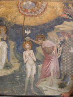 Росписи оратория Иоанна Крестителя в Урбино, 1416 г. Easel, Painting, Art, Nun, Halo, Flip Charts, Art Background, Painting Art, Kunst