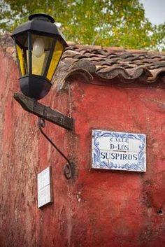 calle de los suspiros (street of sighs), colonia del sacramento