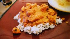 """""""This is a simple home version of butter chicken, also known as 'murgh' or 'chicken makhani,' a popular dish in Indian restaurants. This is best served with naan, an Indian bread, or you can also … Indian Chicken Dishes, Indian Butter Chicken, Indian Dishes, Indian Food Recipes, Asian Recipes, Indian Foods, Curry Recipes, Indian Snacks, Thai Recipes"""