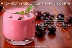 licuado para el dolor inflamatorio