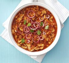 Mexican Chicken Stew - Bring a touch of Mexican flavour to your midweek meal with this low-fat, one-pan supper