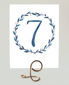 Hey, I found this really awesome Etsy listing at https://www.etsy.com/listing/165725960/printable-table-numbers-watercolor
