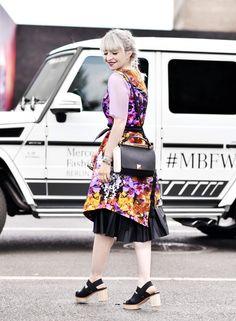 #mbfwb outfit 2: Rebekka Ruétz Kleid – Nachgestern ist vormorgen
