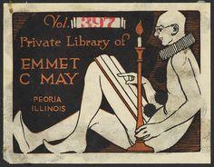 Book plate - May, Emmet C. (Emmet Claire), b. 1875 
