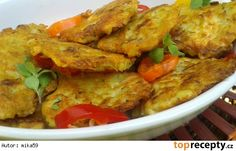 Czech Recipes, Ethnic Recipes, Poultry, Thai Red Curry, Food And Drink, Chicken, Cooking, Czech Food, Pancakes
