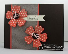 Rita's Creations: FMS87: Coral Fun Flowers