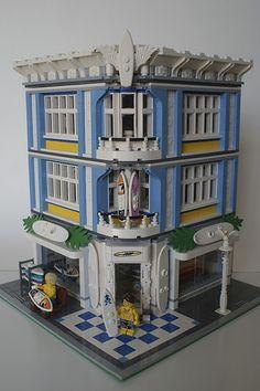Lego Modular Surf Shop