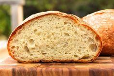 Overnight White Bread from Ken Forkish's  Flour, Water, Salt, Yeast cookbook   Karen's Kitchen Stories