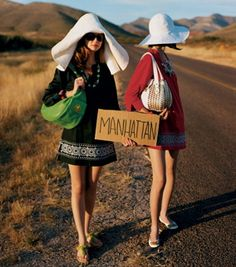 I have always loved this photograph from a Kate Spade ad.
