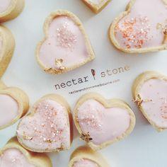 Nectar & Stone pale pink creme tarts