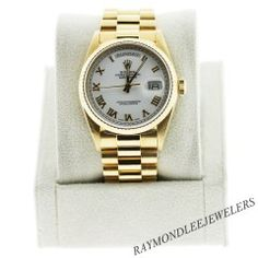 This gold Oyster Perpetual is like the one presented to Arnold Palmer by Rolex in 1967