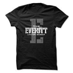 I Love  Everitt team lifetime ST44 T shirts