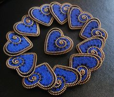 Blue hearts for a good cause... | Flickr - Photo Sharing!