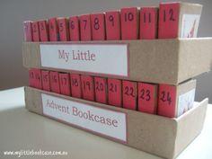 Adventní kalendář - knihovna