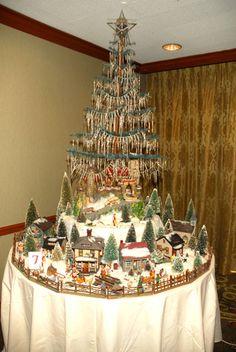 Candle window vintage christmas