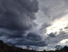 Stormy Sky's in the Southern Tier - 11/6/2015