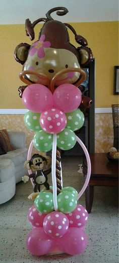 Balloon decorations for a kids party!