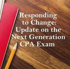 Interested in what the future holds for the CPA Exam? Michael Decker, VP of Examinations at the AICPA, gives a small preview.