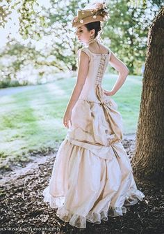 Bridesmaids Dresses Steampunk Victorian Industrial