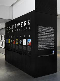 Kraftwerk Retrospective Exhibition Design Environmental Graphics