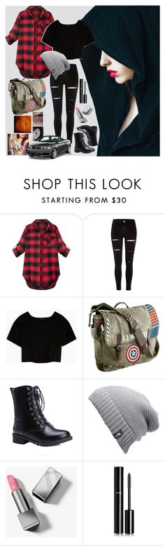 """Untitled #198"" by kturner23 ❤ liked on Polyvore featuring River Island, Max&Co., Marvel, The North Face, Burberry, Chanel and BMW"