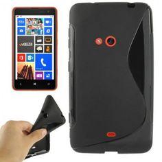 Capa Lumia 625 - Sline Preta
