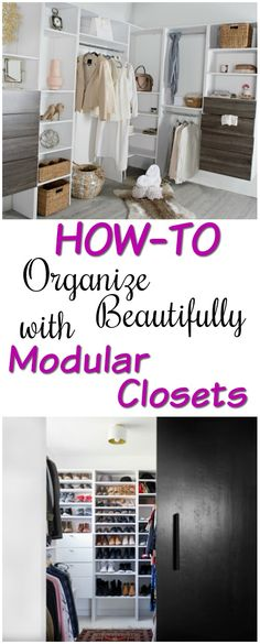 Organizing your house is easy with modular closets. You create your own design, color scheme, comfort and system that works for your lifestyle.  I love my closet from Modular Closets where I can make a quick decision what to wear because my clothes and shoes are organized and neatly stored. Definitely, it is one of my favorite places in the house. AD #HeartThis #OrganizingTips #Closetideas