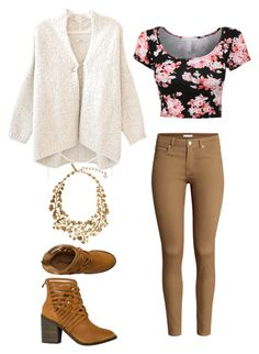 """""""Senza titolo #1233"""" by merypr ❤ liked on Polyvore featuring Humanoid, H&M, Free People and Oscar de la Renta"""