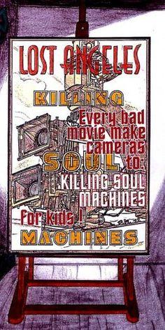 "art work by Paul Maler / ""Killing soul machines"""