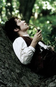 Guys who grow their hair out, dress like hobbits, and run around the forest barefoot are just asking to be dated. ;)