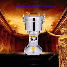 62.71$  Watch now - http://aliz59.worldwells.pw/go.php?t=32703885040 - 1PC HC-700 220V/110V Multifunction 700g Electric Grinder Herb Flour Coffee Pulverizer Food Mill Grinding Machine