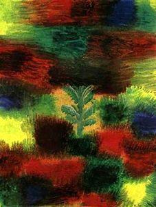 Little Tree Amid Shrubbery - (Paul Klee)