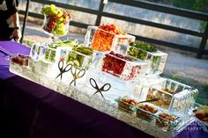 LOVE that Catering with a Twist did this with the help of Spectrum Ice!  Wooohooo