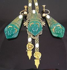 egyptian revival jewelry 1920s - Google Search