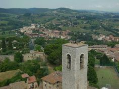 Vistas de San #Gimignano en #Italia.