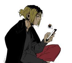 Kenma Kozume, Kuroken, Haikyuu Anime, I Love Him, My Boys, Rook, Manga, Anime Boys, English
