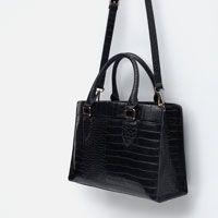 Image 7 of MOCK CROC CITY BAG from Zara