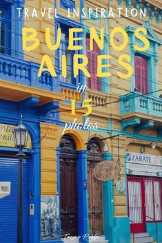 Get all the inspiration you need in this faboulous photo album of 15 of the best sposts that you cannot miss in Buenos Aires! Tango, South America Travel, North America, International Travel Tips, Argentina Travel, Weekend Trips, Central America, Solo Travel, Cool Places To Visit