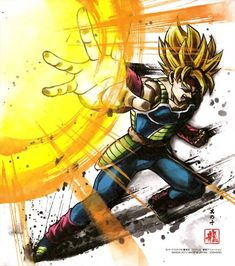 Dragon Ball Z, Bardock Super Saiyan, Tensa Zangetsu, Comics Spiderman, Dragons, Ball Drawing, Good Anime Series, Accel World, Manga Drawing