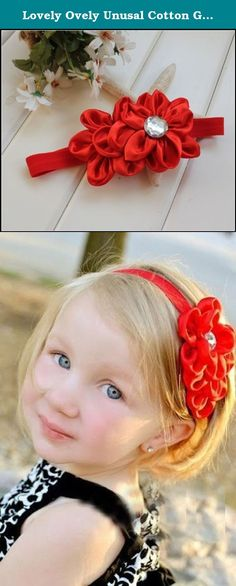 Lovely Ovely Unusal Cotton Girls Baby Red Flower Hairband Headband. Brand New, With Tags Beautiful Feather Roses Glitter Diamond Glitter Lace Headband for Girls, Ladies and Women. These headbands are absolutely stunning! A different and unusual accessory which will make your little girls stand out from the crowd! Note, to be sure you get the one you want, make sure you look at the product shots. The modeled shots give a very good idea of the band but there may be some very minor…