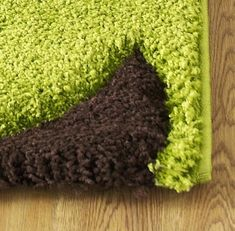 Green And Brown Rug Fashion Lime