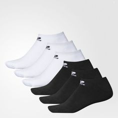 fd5d4f0c5bee adidas TREFOIL NO SHOW SOCK 6 Pairs - Mens Socks Adidas Socks
