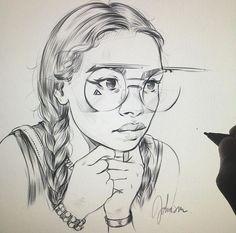 Sc: @ ericanthonyj • sketch •