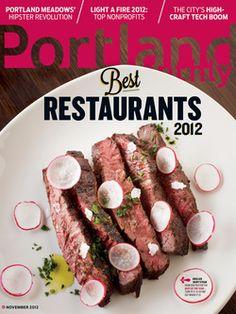 November 2012: Portland's Best Restaurants